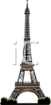 Eiffel Tower in a Realistic Style