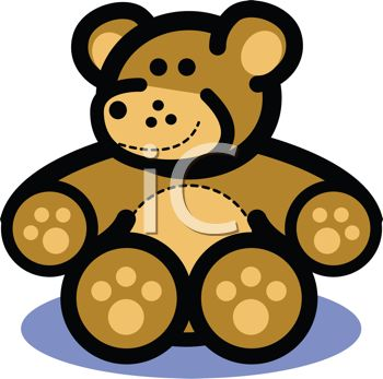 Cartoon Teddy Bear Icon