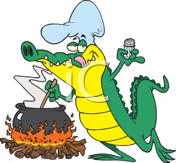 royalty free clipart image cajun alligator cooking over an open fire rh clipartguide com alligator clip art images alligator clip art for kids