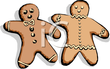 Gingerbread People with Icing
