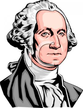 american president george washington royalty free clip art image rh clipartguide com George Washington Cartoon George Washington Coloring Pages