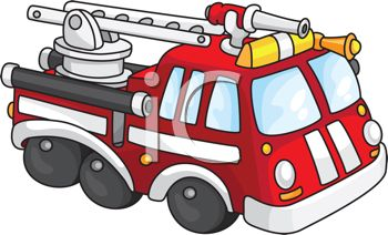Cartoon of a Toy Fire Engine