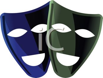 Comedy and Comedy Theater Masks