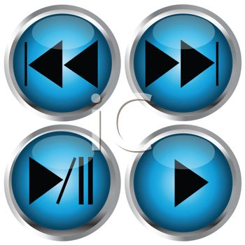 Direction Buttons for Media Player