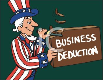 Uncle Sam Whittling Away at Business Deductions
