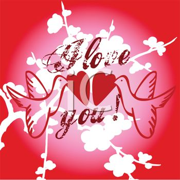 i love you mom clipart. I Love You Background with