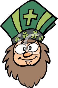 Cartoon of Saint Patrick