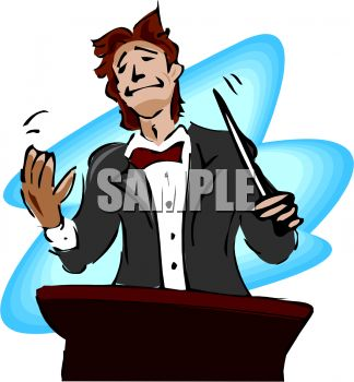 orchestra conductor smiling royalty free clip art picture rh clipartguide com orchestra clipart black and white orchestra conductor clipart