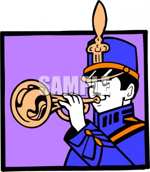 Marching Band Trumpet Player