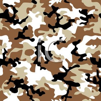 Brown and White Camouflage Pattern Background