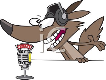 Wolf Radio Disc Jockey
