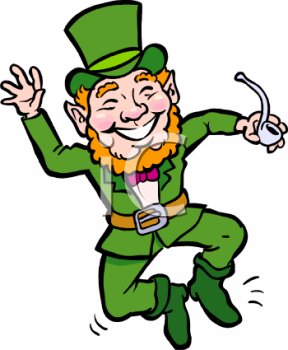 royalty free clipart image happy little leprechaun dancing rh clipartguide com Minecraft Clip Art Free Free Music Clip Art