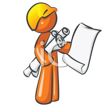 orange man character mascot building inspector royalty free rh clipartguide com  3d orange man clipart