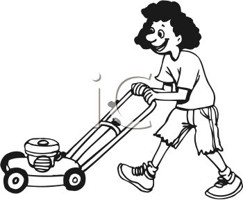 teen girl mowing the lawn royalty free clip art image rh clipartguide com moving clip art free moving clipart for powerpoint free