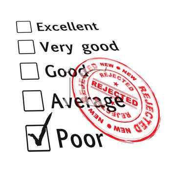 Employee Performance Review Marked Poor
