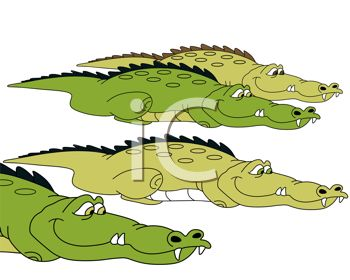 Cartoon Crocodiles
