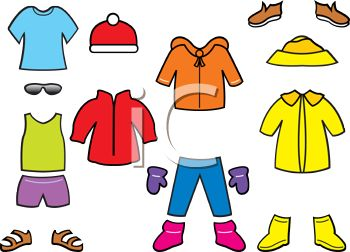 royalty free clip art image collection of seasonal paper doll clothes rh clipartguide com clipart collections for download clipart collections for download