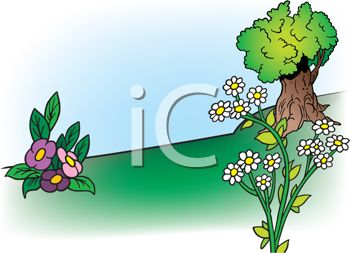 royalty free clip art image cartoon landscape of a shade tree and rh clipartguide com landscape clip art free images landscape clip art free