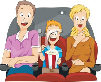 0511-1105-2517-1646_Cartoon_of_a_Family_Eating_Popcorn_at_the_Theater_clipart_image.jpg