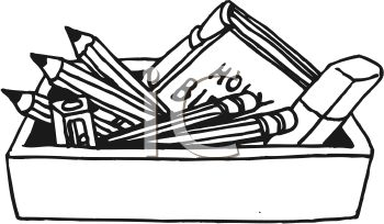 the holy bible in a box with pencils and other stuff used for bible rh clipartguide com open holy bible clipart open holy bible images clip art