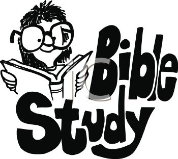 "Girl Wearing Glasses Studying the Bible with ""Bible Study"" Text"
