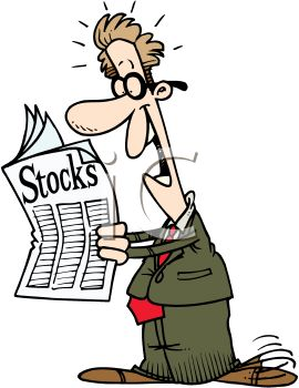 royalty free clipart image greedy investor excited about gains in rh clipartguide com stock market clipart free stock market pictures clip art