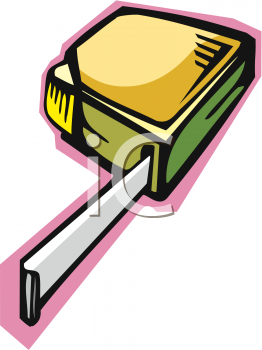 carpenters yellow tape measure as viewed from below royalty free rh clipartguide com carpenter clip art images carpenter clip art free downloads