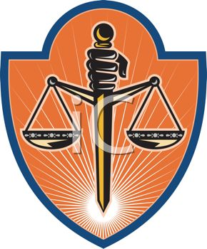 The scales of justice, a symbol of our legal system in its effort to be balanced and fair