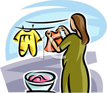 Clothes Clipart Transparent Background - Dry Cleaning Clip Art - Png  Download (#3317277) - PinClipart