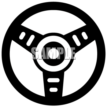 royalty free clip art image simple steering wheel graphic from a car rh clipartguide com steering wheel clipart steering wheel clip art free