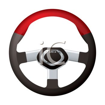 Steering Wheel for an Exotic Sports Car