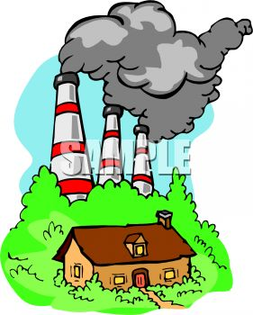 royalty free clip art image smokestacks from a factory belching rh clipartguide com  water pollution pictures clip art