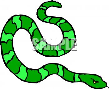 picture of a green striped snake hissing in a vector clip art rh clipartguide com snacks clip art free snacks clip art free