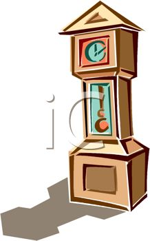 picture of a grandfather clock in a vector clip art illustration rh clipartguide com  grandfather clock clipart black and white