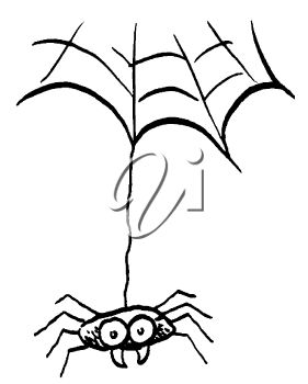 picture of a spider hanging from a web in a vector clip art rh clipartguide com web clipart graphics web clip art free