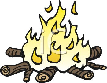 picture of a burning campfire in a vector clip art illustration rh clipartguide com campfire clip art free campfire clipart free