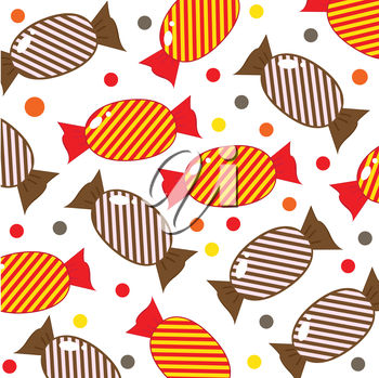 Striped Candy Background