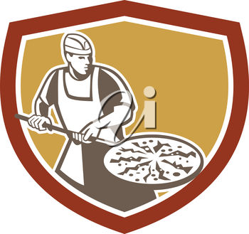 A pizza chef