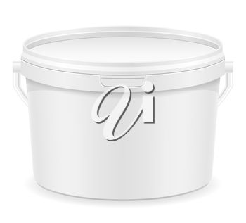 A plsatic bucket