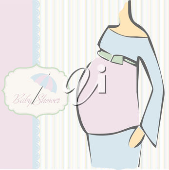 An invitation for a baby shower