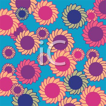 A floral background
