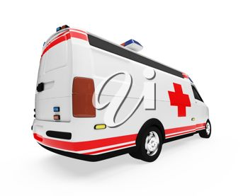 An medical van
