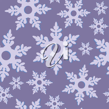 A wallpaper with snowflakes