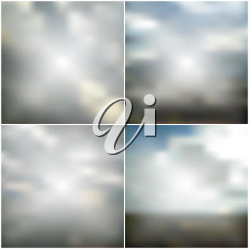 Backgrounds of clouds