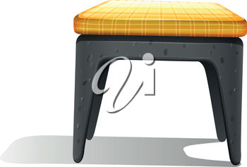 A footstool