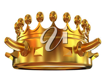 A gold crown