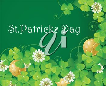 A saint patricks day background