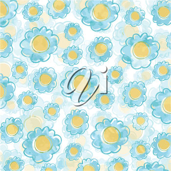 A background with a flower pattern