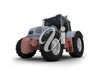 A 3d tractor