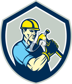 A construction logo